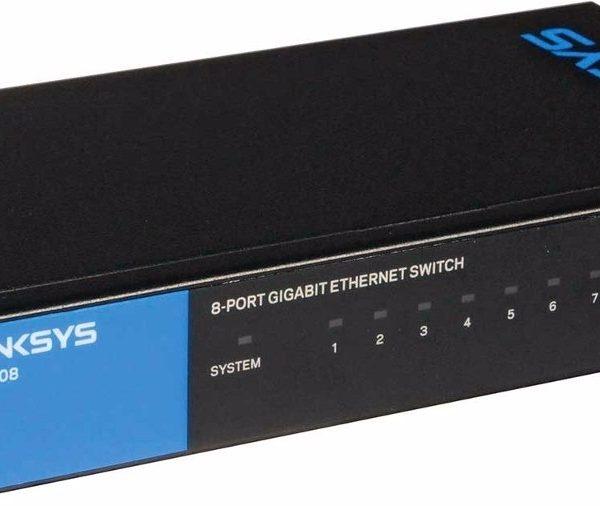 Linksys SE3008 8-Port Gigabit Ethernet Switch - Riaz Computer