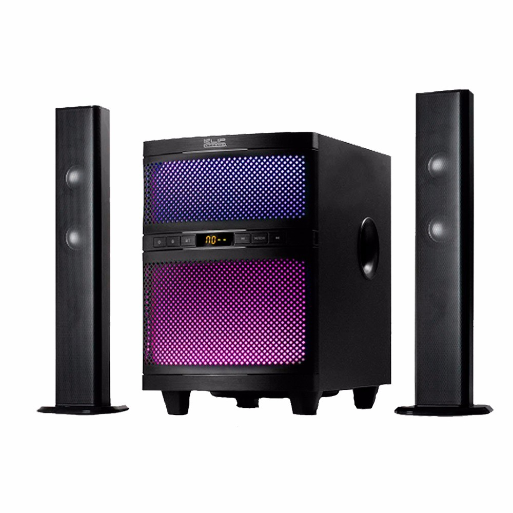 Klip Xtreme Mystik 2 1 Channel Convertible Sound System