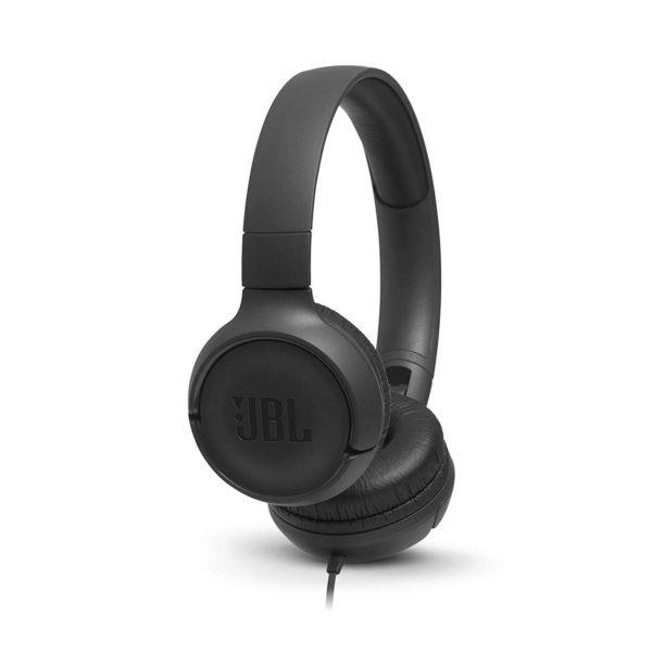 422a144f972 JBL Tune 500 Powerful Bass On-Ear Headphones with Mic | T500 - Riaz ...